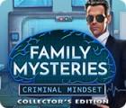 Hra Family Mysteries: Criminal Mindset Collector's Edition