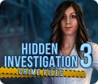 Hra Hidden Investigation 3: Crime Files