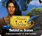 Hra Memoirs of Murder: Behind the Scenes Collector's Edition