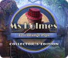 Hra Ms. Holmes: Five Orange Pips Collector's Edition