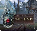 Hra Mystery Trackers: Fatal Lesson Collector's Edition