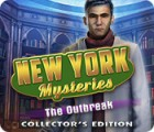 Hra New York Mysteries: The Outbreak Collector's Edition