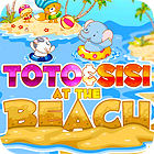 Hra Toto and Sisi At The Beach