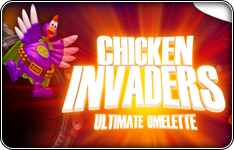 Chicken Invaders 4: Ultimate Omelette prémiová hra