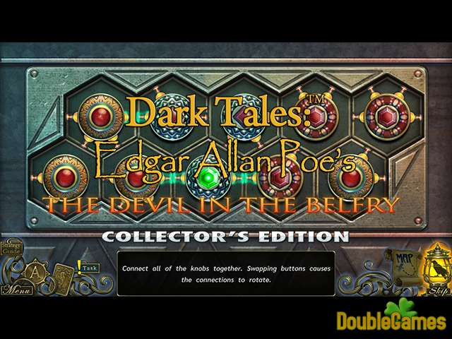 Zdarma stáhnout Dark Tales: Edgar Allan Poe's The Devil in the Belfry Collector's Edition screenshot 3
