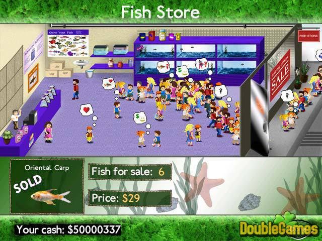 Zdarma stáhnout Fish Tycoon screenshot 2
