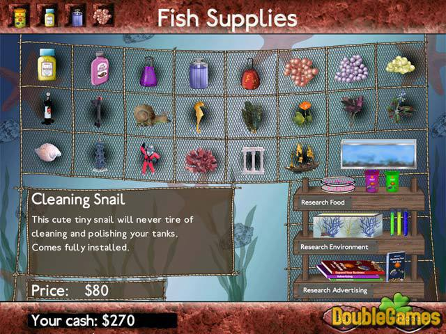 Zdarma stáhnout Fish Tycoon screenshot 3