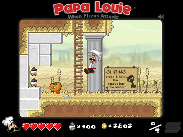 Free Download Papa Louie: When Pizzas Attack Screenshot 1
