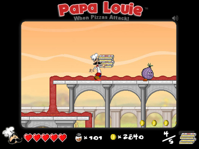 Free Download Papa Louie: When Pizzas Attack Screenshot 2